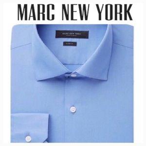 Men's Slim-Fit Motion-Ease Collar Shirt